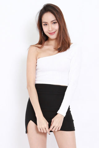 Toga Ribbed Top (White)