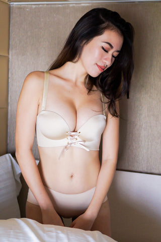 Ultimate Push Up Bra Set (Nude)