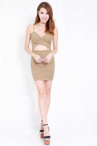 Underwrap Dress (Nude)