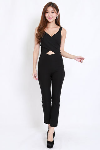 Underwrap Jumpsuit (Black)