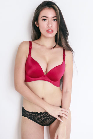 Wireless Seamless Bra (Rose)