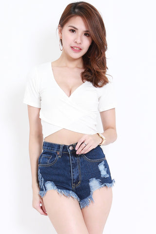 Wrap Top (White)