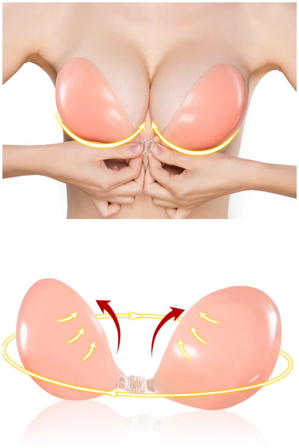 Silicone Nubra *Super Sticky and Push Up*