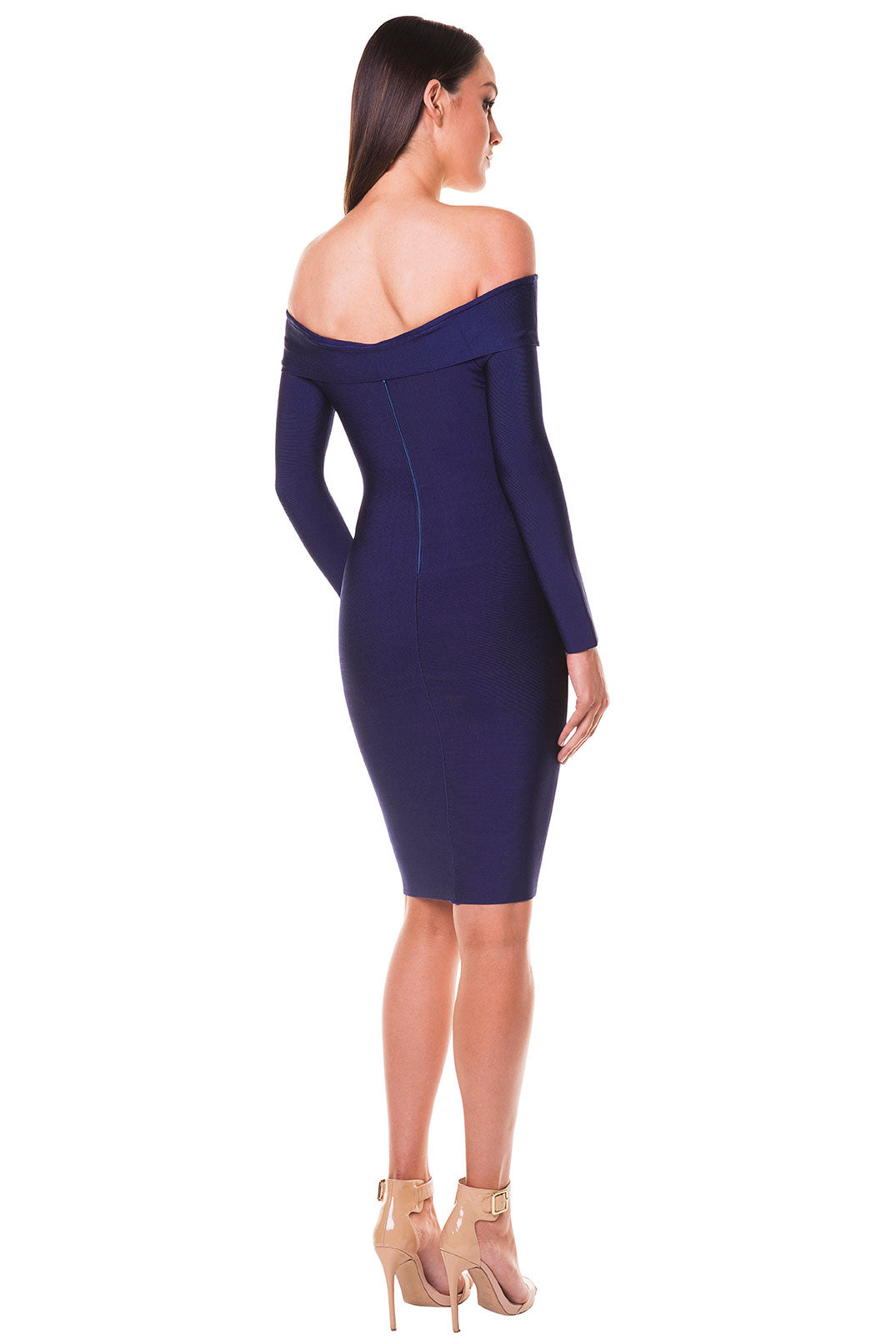 Amalia Off-Shoulder Bandage Dress
