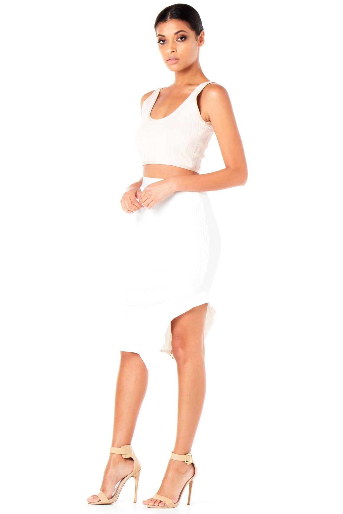 Kiara Ribbed Two-Piece Bandage Set [SAMPLE SALE]