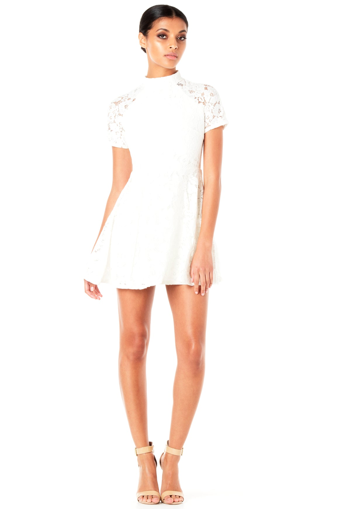 Willow Lace Dress - White [SAMPLE SALE]