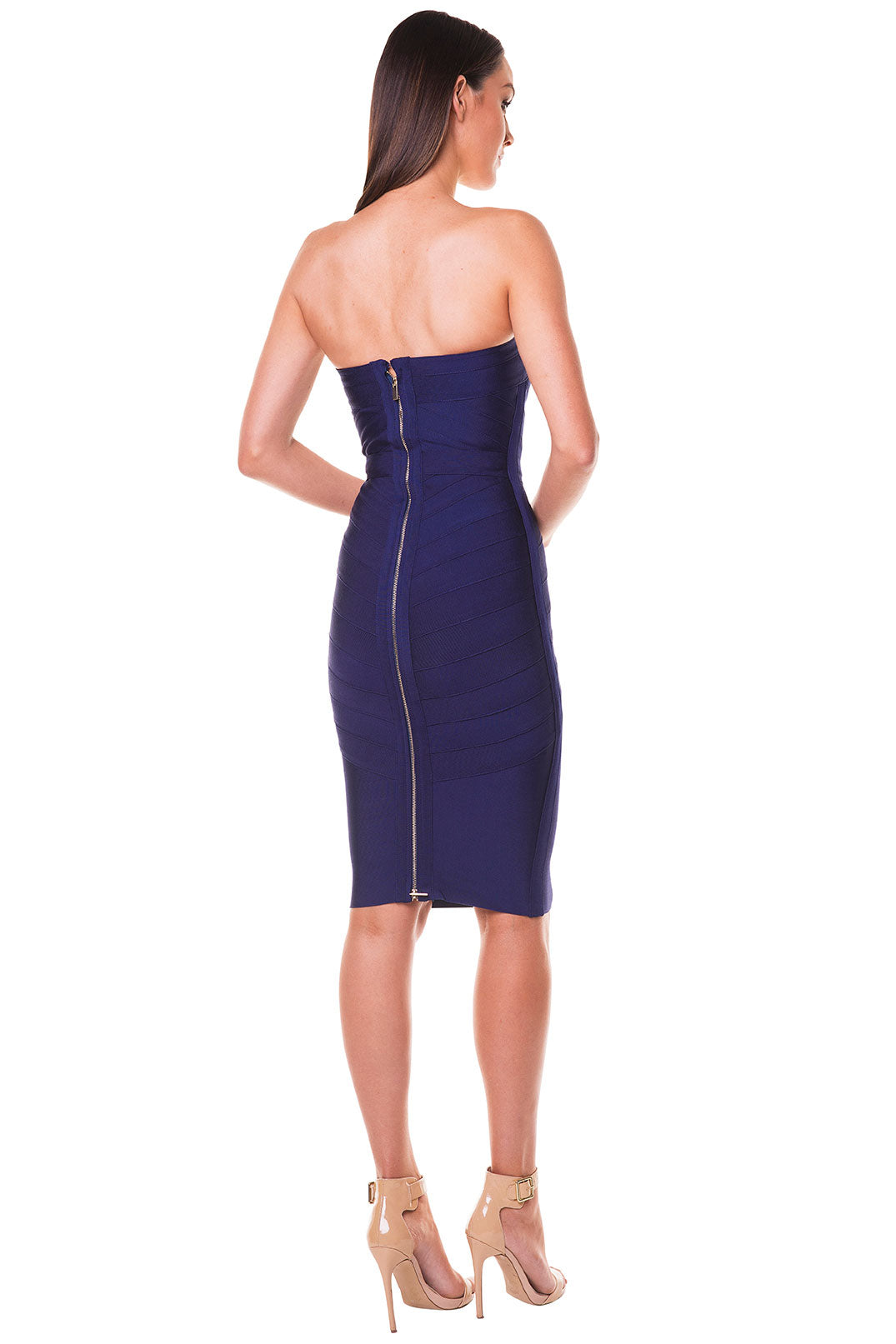 Shila Strapless Bandage Dress