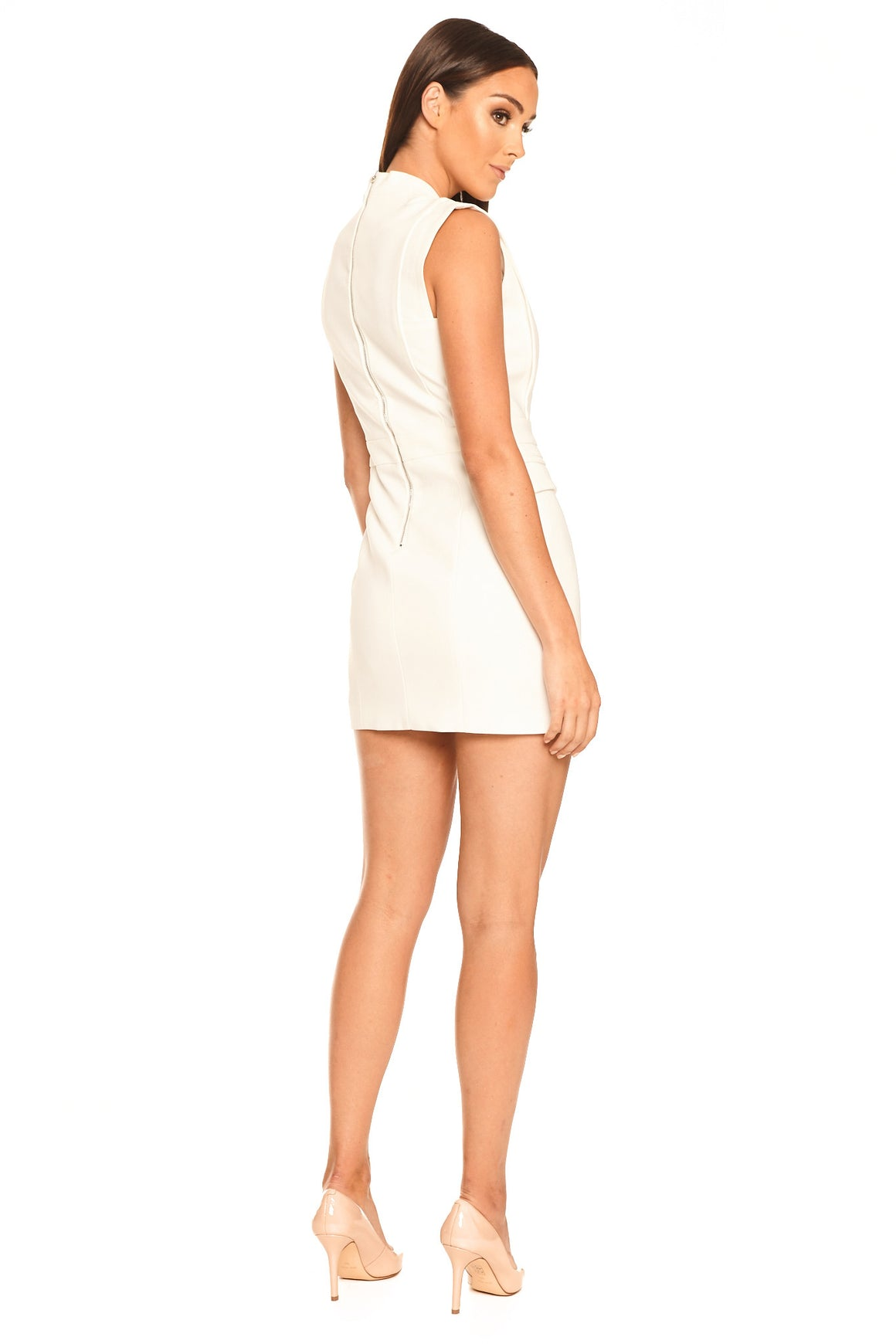 Nadine Dress - White