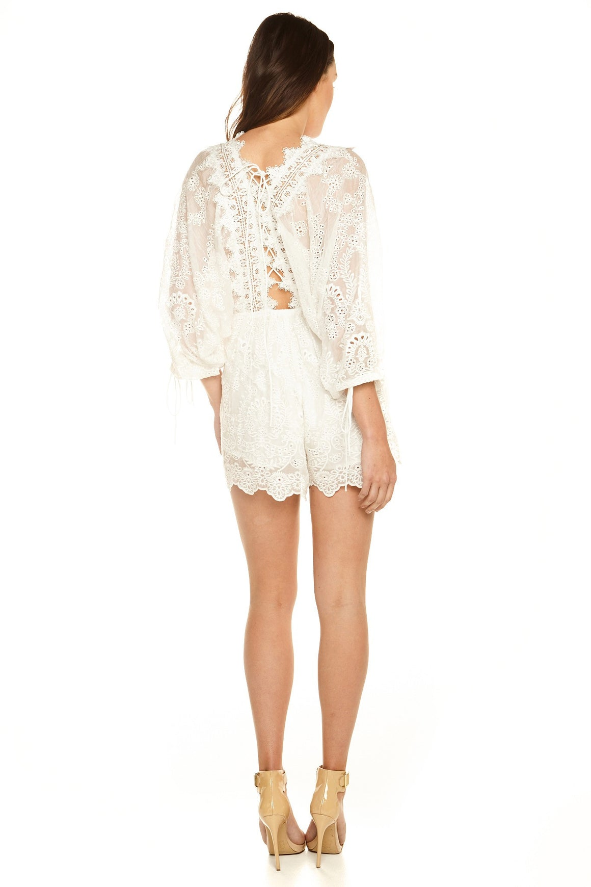Mondrian Lace Playsuit