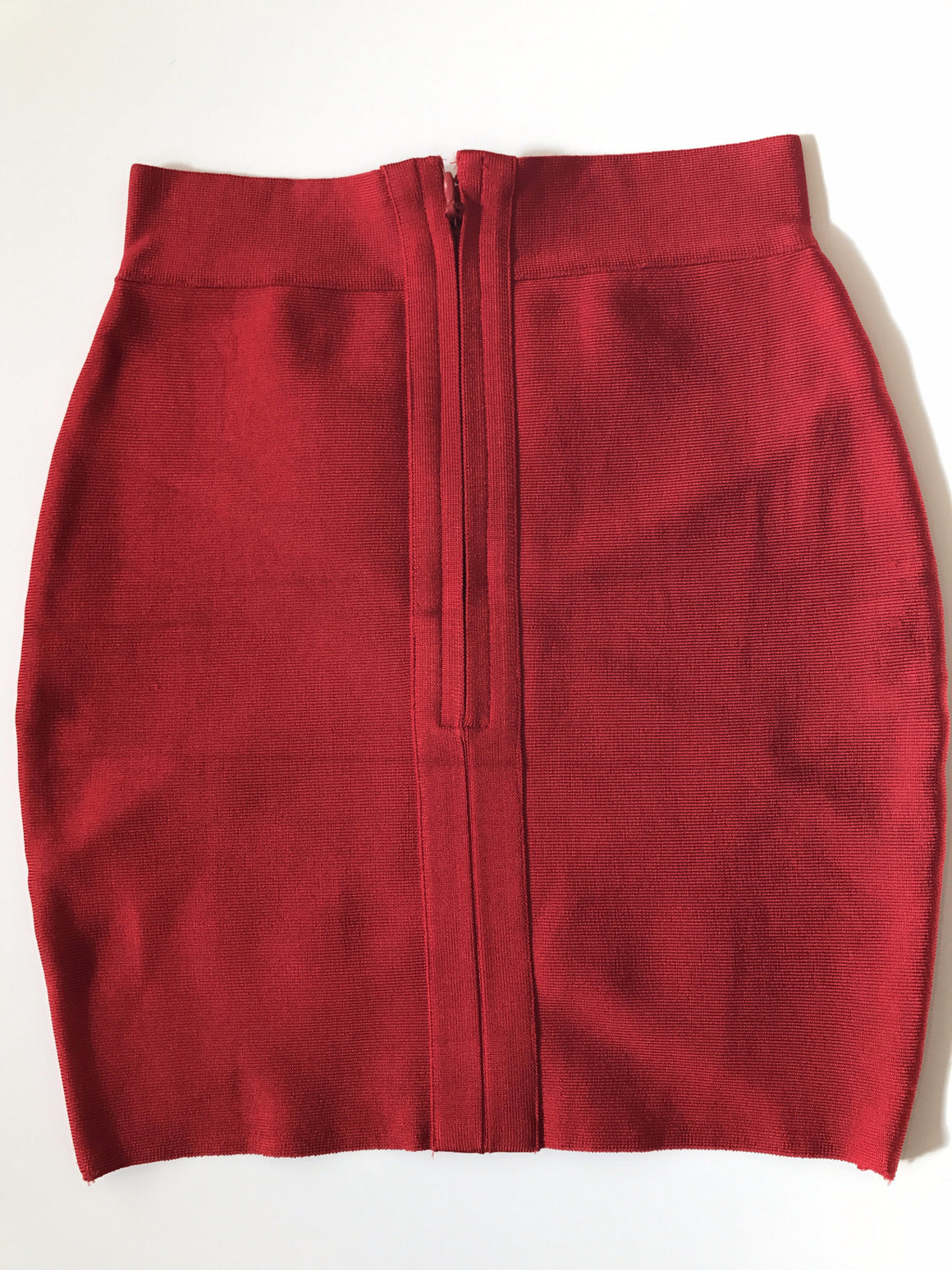 Bandage V Skirt - Red