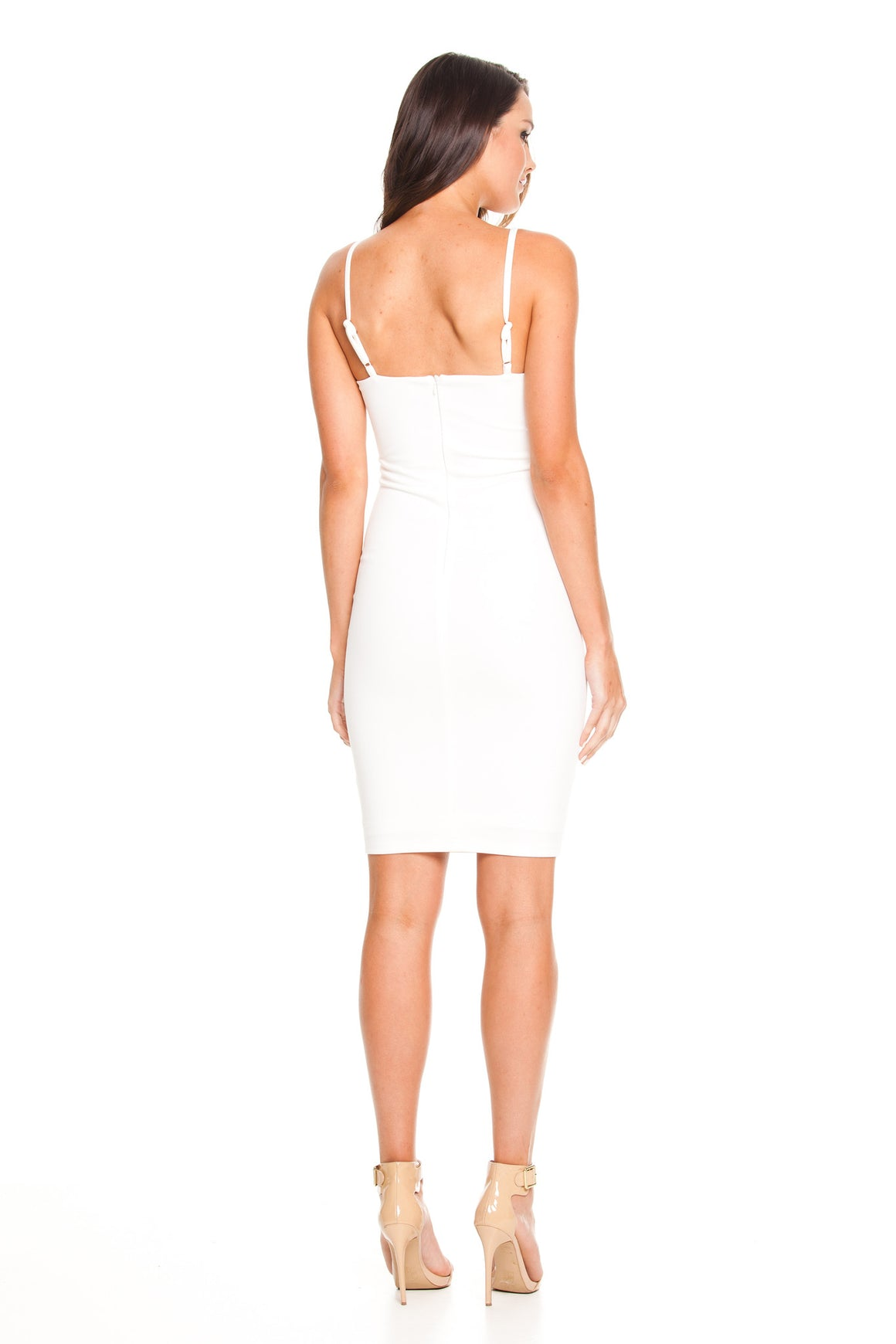 Pia Bodycon Dress - White