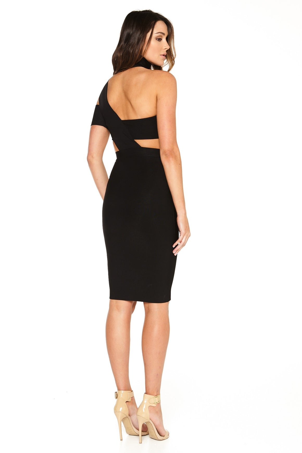 Ella Cutout Bandage Dress - Black [SAMPLE SALE]