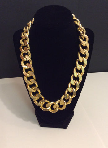Thick Gold Chain Necklace