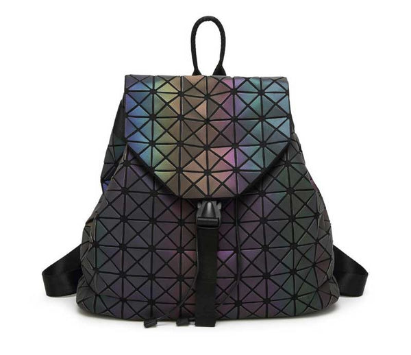 Geometric Reflective Backpack
