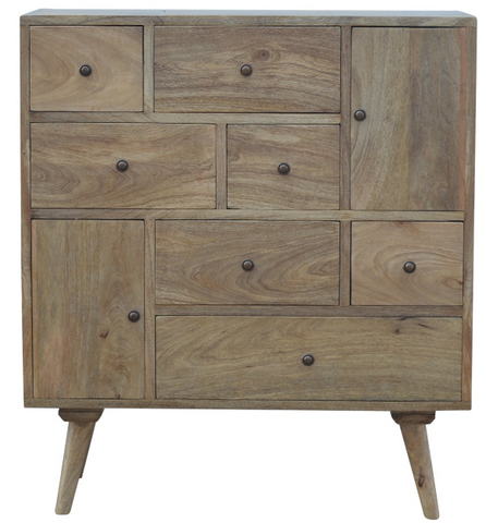 Solid Wood 9 Drawer Sideboard | Solid Wood Warehouse