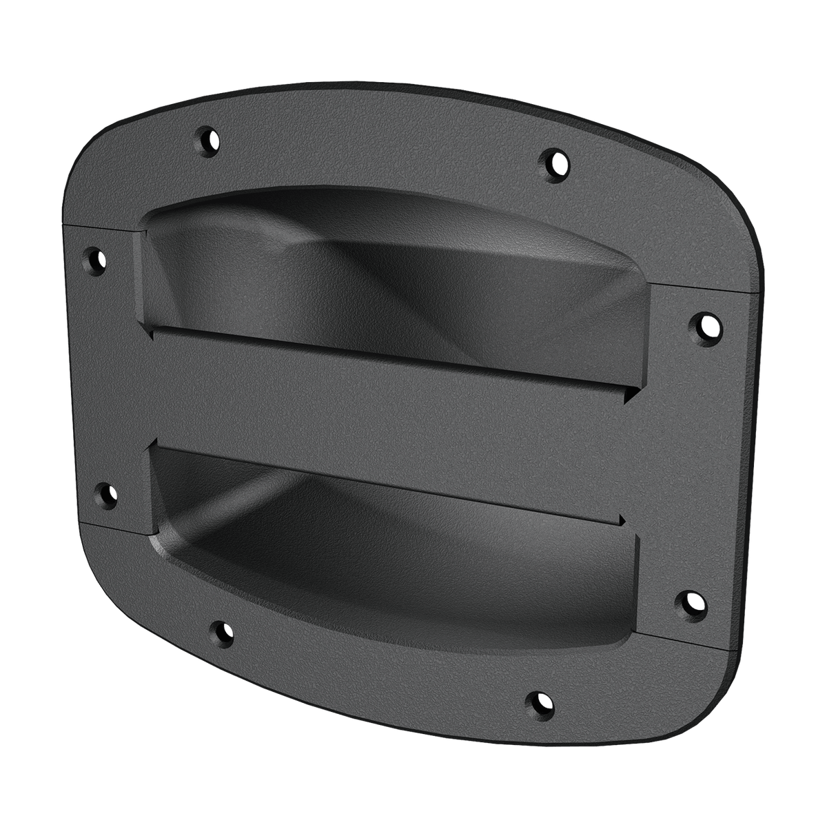 Render of Oval Speaker Cabinet Handle