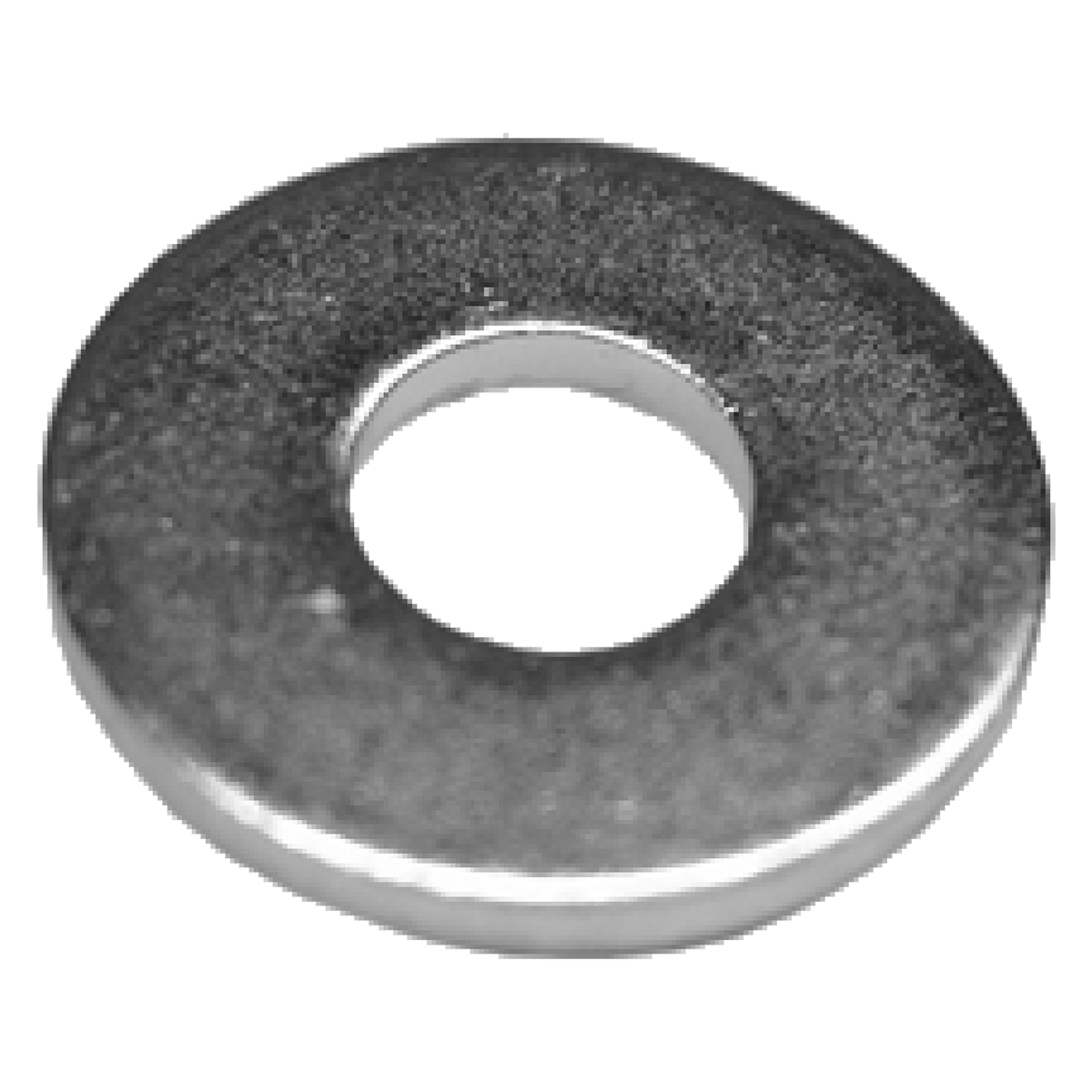 "Steel Washer - 0.220"", 3/4 view"