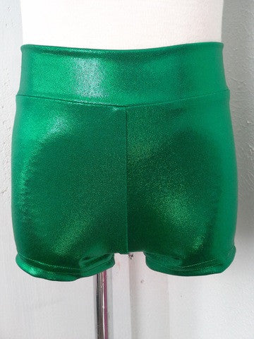 Details Basic Shorts: Kelly Green