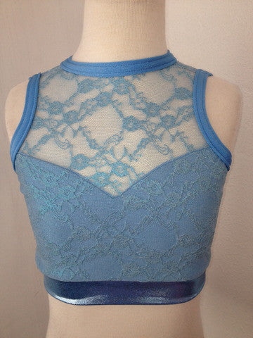 Blue Wave Dream Top