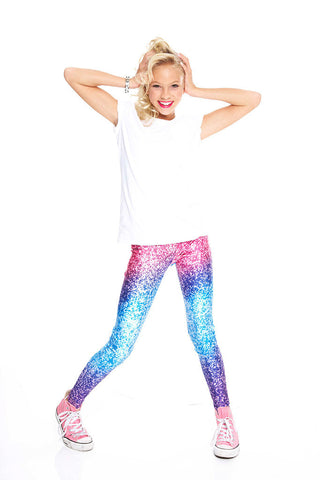 Zara Terez Glitter Mirror Leggings