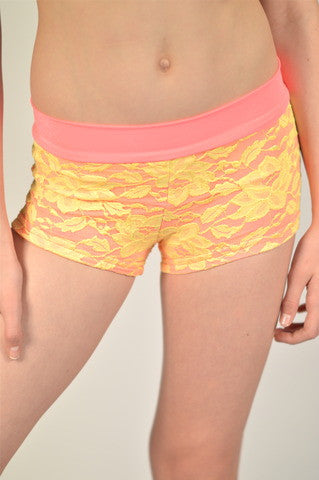 Peach Sherbet Shorts