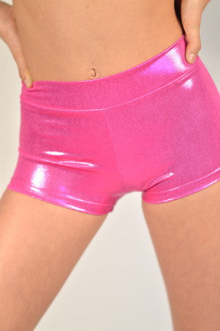 Details Basic Shorts: Hot Pink