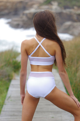 Details by Remy: Mesh Briefs (White Sand)