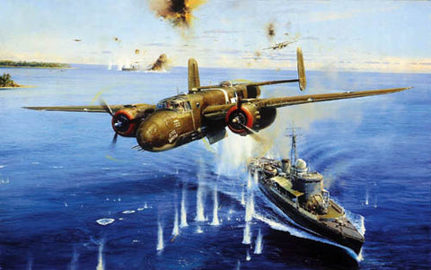 """Air Apaches on the Warpath"" by Robert Taylor"