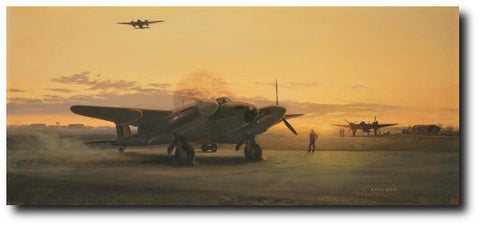 """Mosquitos at Dusk"" by Gerald Coulson"
