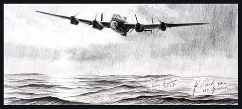 """Lone Lancaster "" by Stephen Brown"