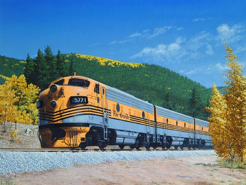 """Gold on the Rockies"" by Don Feight"