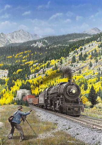 """1932 Railfan"" by Don Feight"