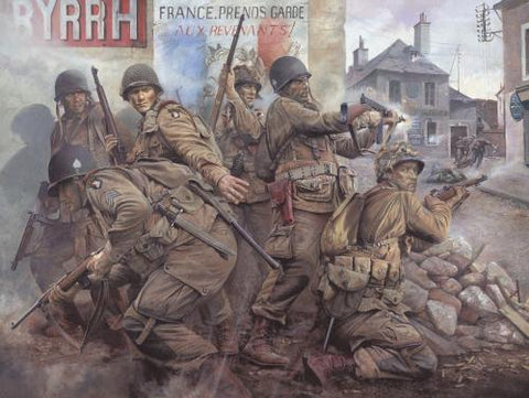 """Easy Company-The Taking of Carentan"" by Chris Collingwood"