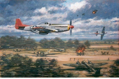 """RED TAILS REVENGE"" by RONALD WONG"