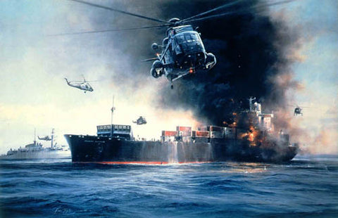 """Sea King Rescue"" by Robert Taylor"