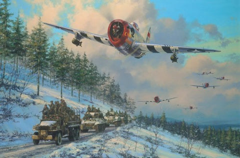 """Thunder in the Ardennes"" by Anthony Saunders"