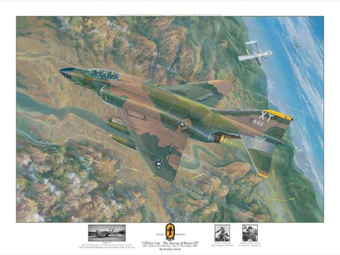 """All for One - RF-4C"" by Randy Green"