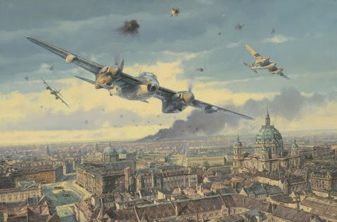 """Strike on Berlin"" by Anthony Saunders"