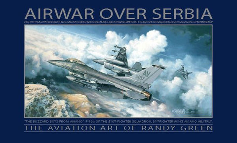 """Air War Over Serbia"" by Rand Greene"
