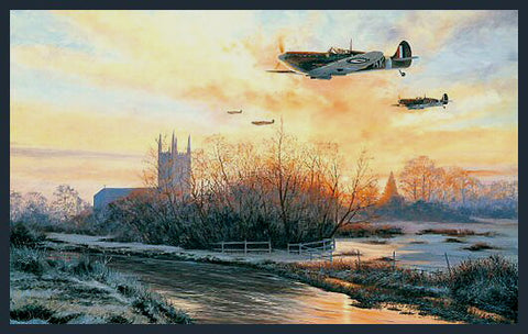 """Dawn's First Light-Polish Fighter Squadron"" by Stephen Brown"