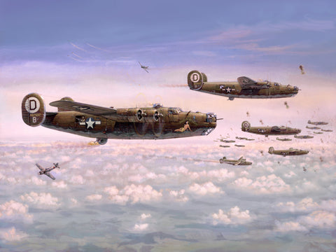 """B-24 Liberators"" by Jim Laurier"