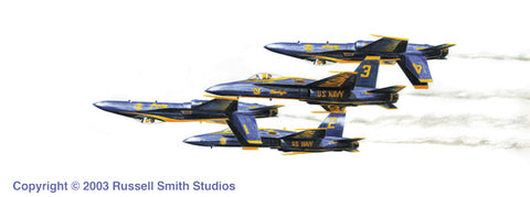 """Blue Angels 1"" by Russell Smith"