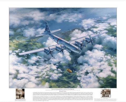 """Bockscar Over Nagasaki"" by Randy Green"