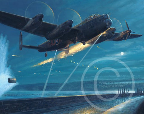 """Dambusters-Courage and Sacrifice"" by Mark Postlethwaite"