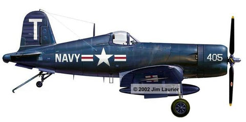 """F-4U-5 Corsair Profile"" by Jim Laurier"