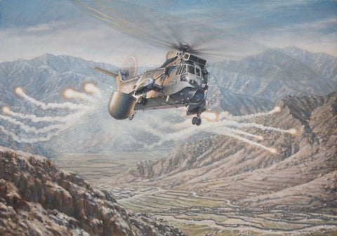 """SKASaC OVER HELMAND PROVINCE"" by RONALD WONG"