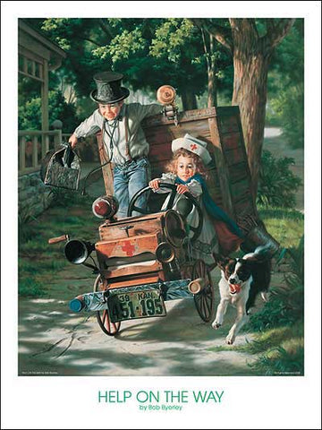"""Help on the Way"" by Bob Byerley"