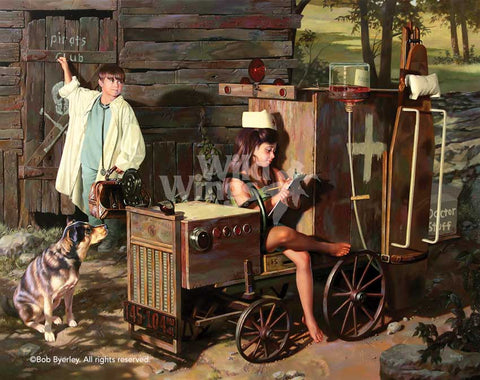 """House Calls"" by Bob Byerley"