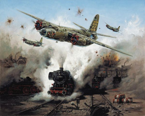 """Marauder Strike"" by Heinz Krebs"