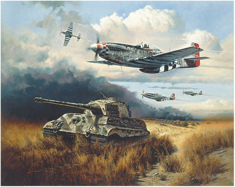 """Normandy Tiger Hunt"" by Heinz Krebs"